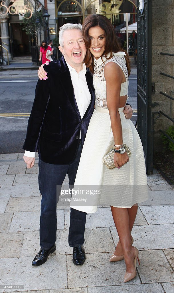 Louis Walsh and Glenda Gilson attend the Pride of Ireland Awards at Mansion House on May 19, 2015 in Dublin, Ireland.