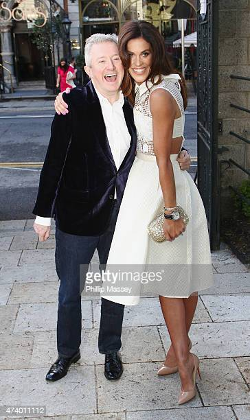 Louis Walsh and Glenda Gilson attend the Pride of Ireland Awards at Mansion House on May 19 2015 in Dublin Ireland