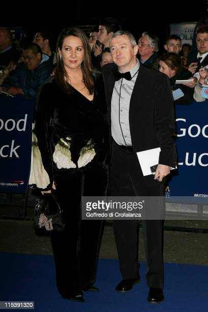 Louis Walsh and guest during National Television Awards 2005 at Royal Albert Hall, London in London, United Kingdom.
