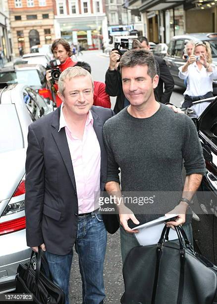 Louis Walsh And Simon Cowell Attend ITV 2 As Digital Channel Launches Its Autumn Schedule