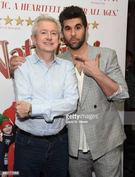 Louis Walsh and Simon Lipkin attend the world premiere press night performance of 'Nativity The Musical' at Eventim Apollo Hammersmith on December 14...