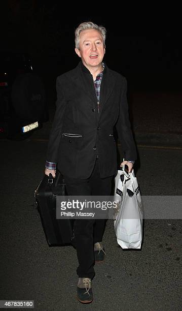Louis Walsh appears on the Late Late Show on March 27 2015 in Dublin Ireland