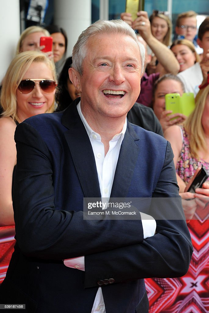 Louis Walsh arrives for the first X Factor auditions of 2016 on June 10, 2016 in Leicester, United Kingdom.