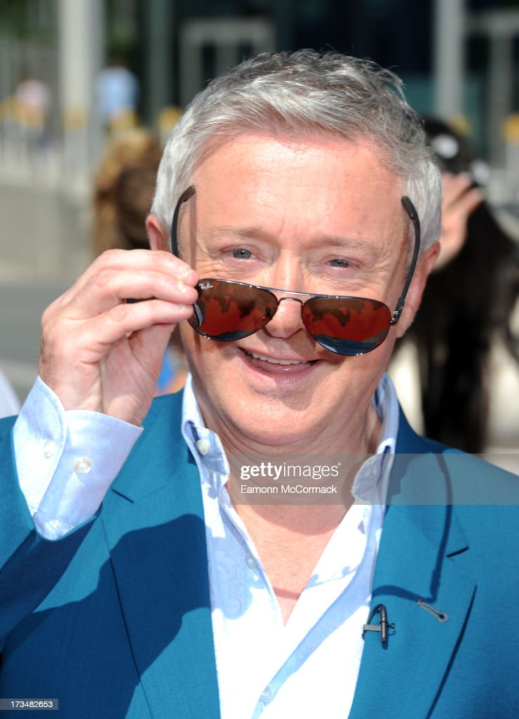 Louis Walsh arrives for the London auditions of The X Factor at Wembley Arena on July 15, 2013 in London, England.