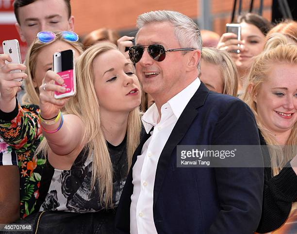 Louis Walsh arrives for the Manchester auditions of The X Factor at Lancashire County Cricket Club on June 16, 2014 in Manchester, England.