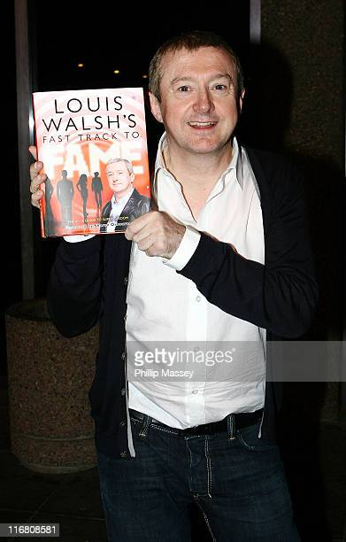 Louis Walsh at the Late Late Show at RTE Studios on October 12 2007 in Dublin Ireland