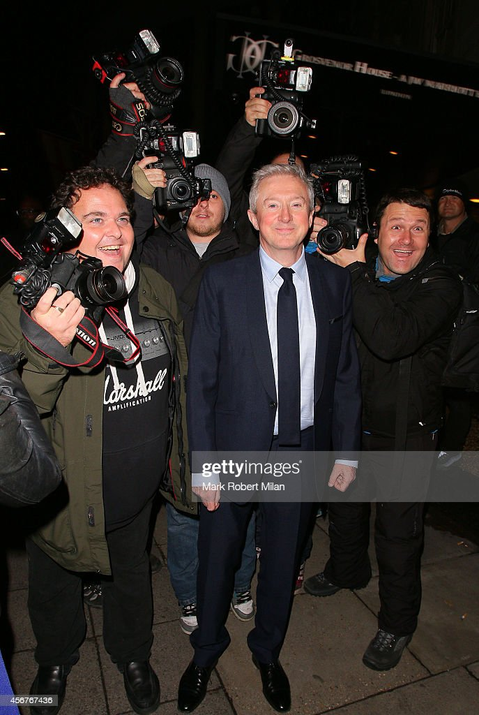 Louis Walsh attend the Pride of Britain awards at The Grosvenor House Hotel on October 6, 2014 in London, England.