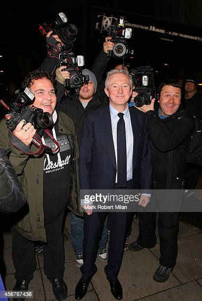 Louis Walsh attend the Pride of Britain awards at The Grosvenor House Hotel on October 6 2014 in London England