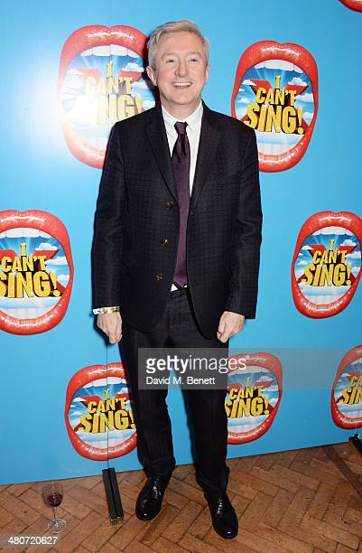 Louis Walsh attends the after party following the press night performance of 'I Can't Sing The X Factor Musical' at One Marylebone on March 26 2014...