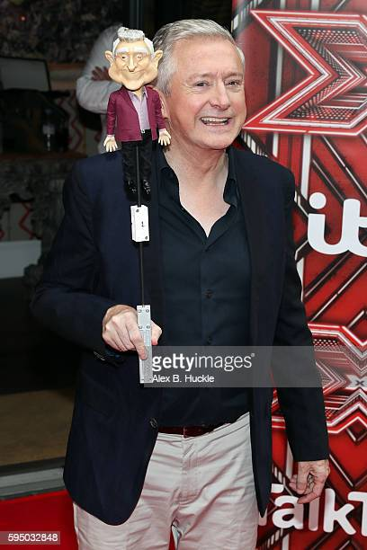 Louis Walsh attends the Launch of the X Factor 2016 at the Ham Yard Hotel on August 25 2016 in London England
