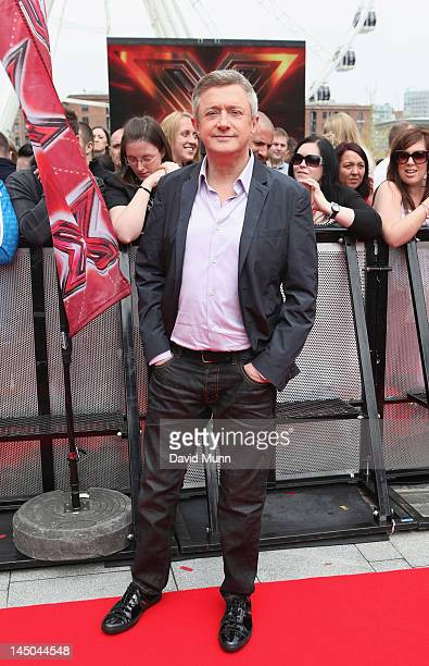 Louis Walsh attends the Liverpool audition of X-Factor at Echo Arena on May 23, 2012 in Liverpool, England.