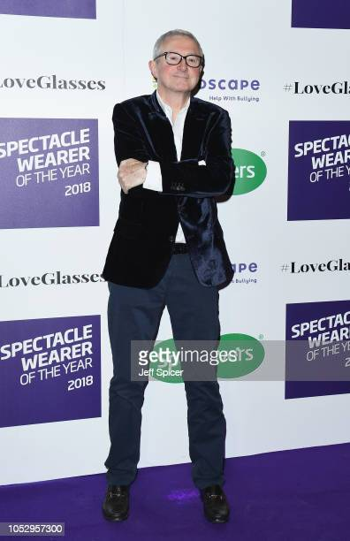 Louis Walsh attends the Specsavers 'Spectacle Wearer Of The Year' at 8 Northumberland Avenue on October 24 2018 in London United Kingdom