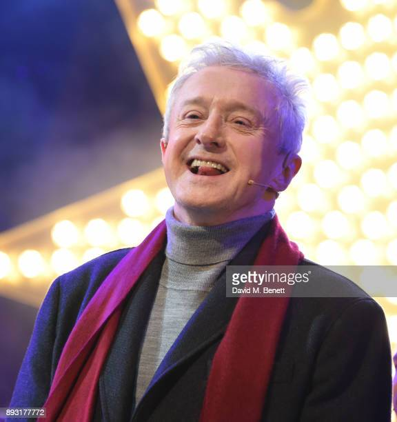 Louis Walsh attends the world premiere press night performance of 'Nativity The Musical' at Eventim Apollo Hammersmith on December 14 2017 in London...