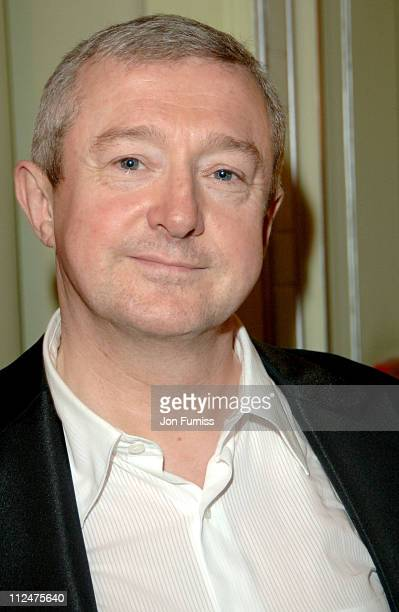 Louis Walsh during 2005 TV Quick TV Choice Awards Inside at Dorchester in London Great Britain