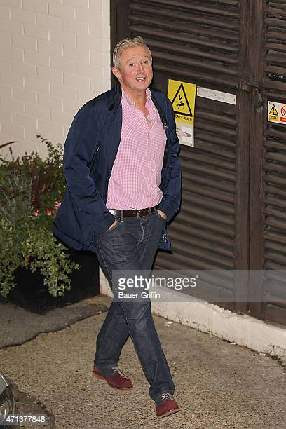 Louis Walsh is seen leaving Fountain Studios after 'The X Factor' Live show on October 07, 2012 in London, United Kingdom.
