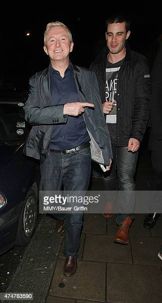 Louis Walsh is seen on October 22 2012 in London United Kingdom