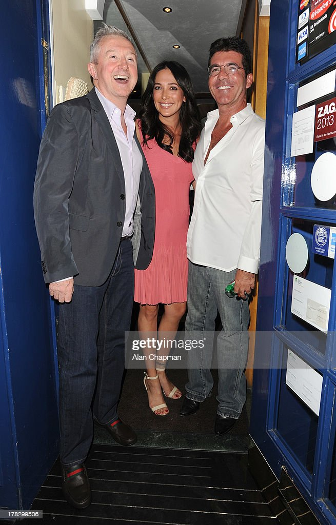 Simon Cowell and Lauren Silverman Sighting In London - August 28, 2013