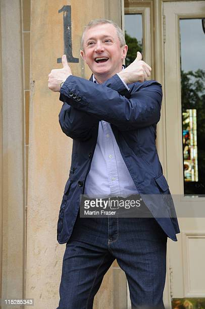Louis Walsh leaves his Glasgow hotel to attend the X Factor Glasgow auditions at SECC on June 6 2011 in Glasgow Scotland