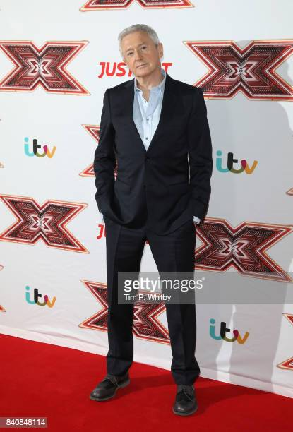 Louis Walsh poses for a photo during The X Factor Series 14 red carpet press launch at Picturehouse Central on August 30 2017 in London England