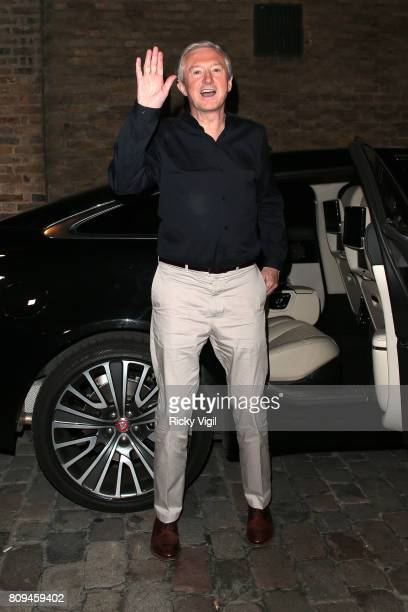 Louis Walsh seen leaving The X Factor London auditions on July 5 2017 in London England