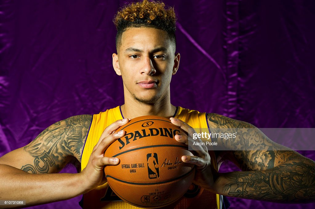 1723bd9f90f Louis Williams of the Los Angeles Lakers poses for a portrait during ...