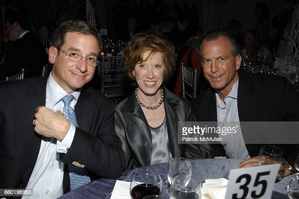 Louis Wilson Peggy Flesher and Charles Manger attend PARRISH ART MUSEUM Midsummer Party Honoring DOROTHY LICHTENSTEIN at Parrish Art Museum on July...