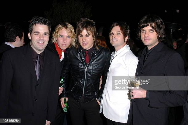 Louis XIV during Atlantic Records at Warner Music Group 2005 After GRAMMY Awards Party at Pacific Design Center in Los Angeles, California, United...