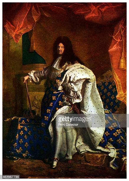 Louis XIV King of France 1701 Although Louis inherited the French crown in 1643 he did not actually take the reigns of power until the death of his...