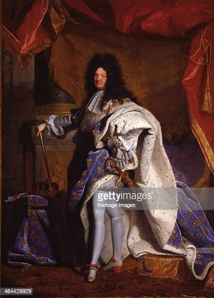 Louis XIV King of France 1702 Found in the collection of the Musée de l'Histoire de France