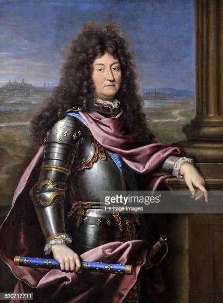 Louis XIV King of France Found in the collection of Musée de l'Histoire de France Château de Versailles