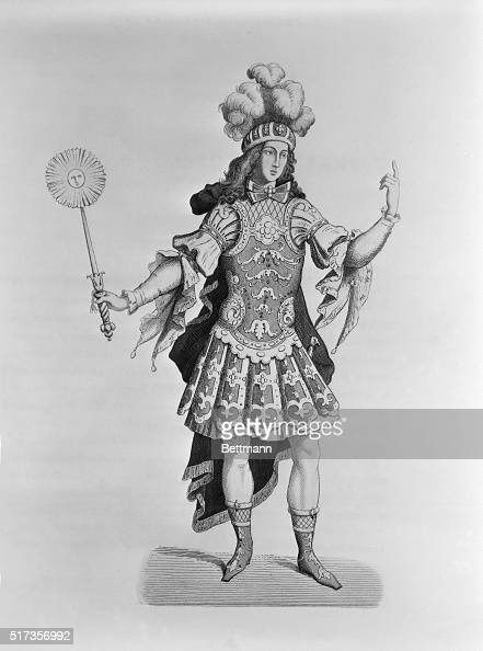 Louis Xiv The Sun King In Ballet Outfit Undated Engraving Bpa2 News Photo Getty Images