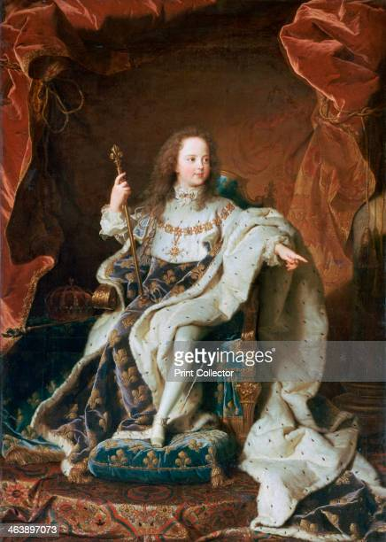 'Louis XV at the Age of Five' c1715