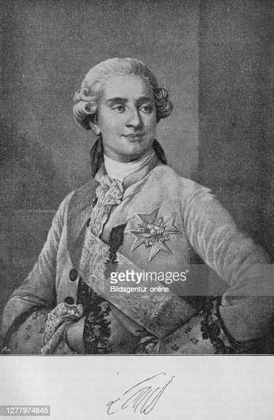 Louis XVI, King of France, August of France from the House of Bourbon was as Louis Auguste first Duke of Berry and became after the death of his...