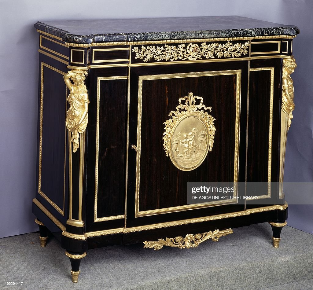 Louis XVI style Second Empire thuja sideboard Pictures   Getty Images