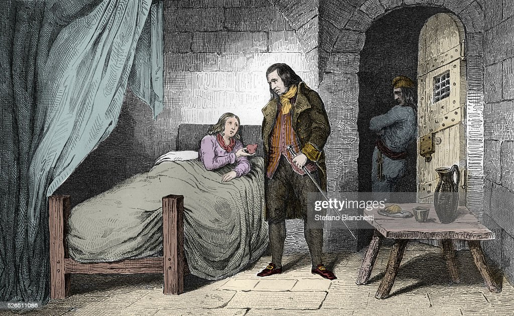 Louis XVII (1785 95) Sick In The Prison Of The Temple, Just