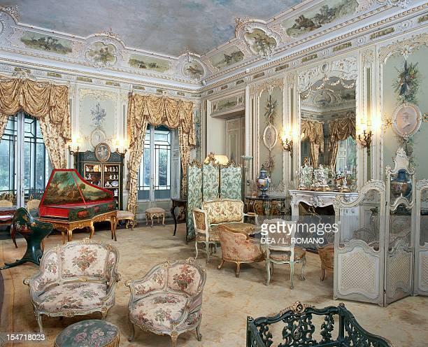 Louis XVstyle cabinet Villa Malfitano Whitaker Palermo Sicily Italy 19th century