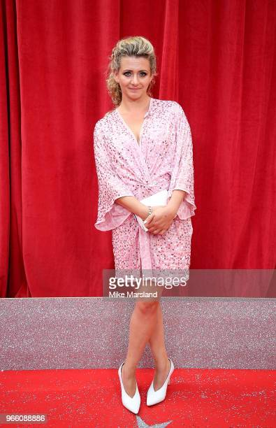 Louisa Clein attends the British Soap Awards 2018 at Hackney Empire on June 2 2018 in London England