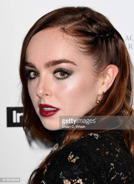 Louisa ConnollyBurnham attends the EE InStyle Party held at Granary Square Brasserie on February 6 2018 in London England