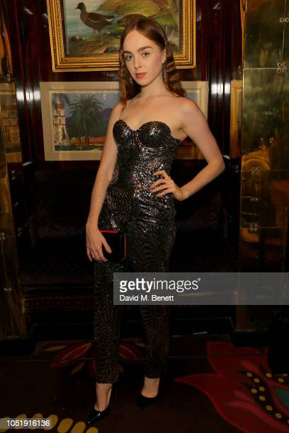 Louisa ConnollyBurnham attends the International Day of the Girl Child Charity Event At The Original Annabel's hosted by The Bardou Foundation on...