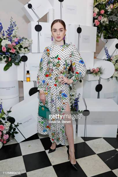 Louisa ConnollyBurnham attends the Maison Christian Dior London cocktail party on February 19 2019 in London England