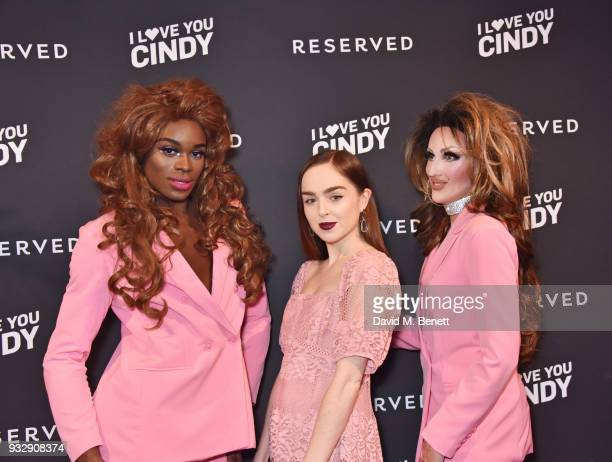 Louisa ConnollyBurnham attends the Reserved iLoveYouCindy campaign launch event at Kachette on March 16 2018 in London England