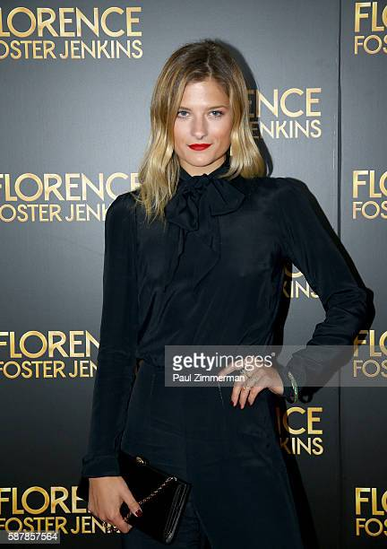 Louisa Gummer attends Florence Foster Jenkins New York City Premiere at AMC Loews Lincoln Square on August 9 2016 in New York City