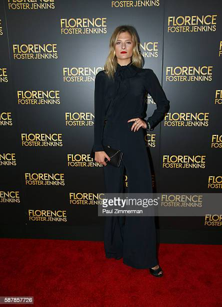 Louisa Gummer attends 'Florence Foster Jenkins' New York City Premiere at AMC Loews Lincoln Square on August 9 2016 in New York City