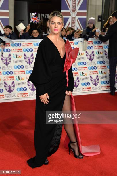 Louisa Johnson attends Pride Of Britain Awards 2019 at The Grosvenor House Hotel on October 28 2019 in London England