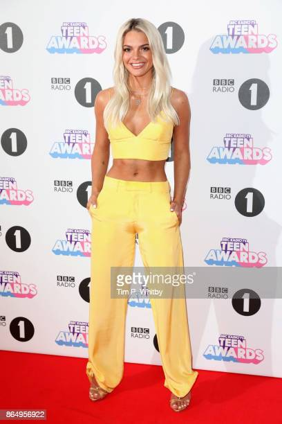 Louisa Johnson attends the BBC Radio 1 Teen Awards 2017 at Wembley Arena on October 22 2017 in London England