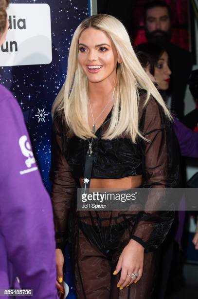 Louisa Johnson attends the Capital FM Jingle Bell Ball with CocaCola at The O2 Arena on December 10 2017 in London England
