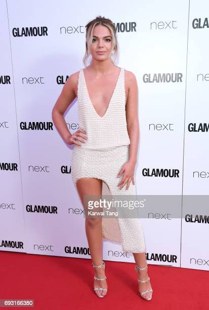 Louisa Johnson attends the Glamour Women of The Year Awards 2017 at Berkeley Square Gardens on June 6 2017 in London England