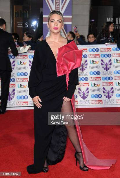 Louisa Johnson attends the Pride Of Britain Awards 2019 at The Grosvenor House Hotel on October 28 2019 in London England