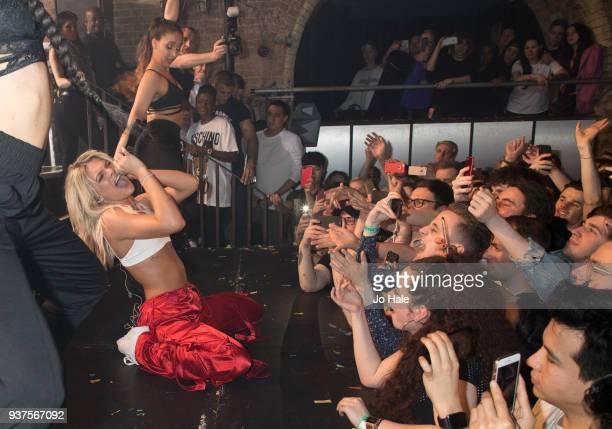 Louisa Johnson performs at GAY on March 24 2018 in London England
