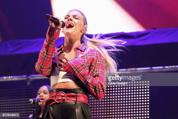 Louisa Johnson performs during Radio City Live held at Echo Arena on November 10 2017 in Liverpool England